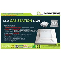 Aluminum IP65 150w LED Gas Station Light, LED Canopy Light from Shenzhen with AT