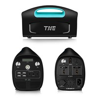 TNE Portable Solar Online Generator Power Bank Home Inverter UPS System with Solar Panel Charger