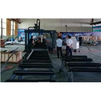 H Beam Profile/Pipe CNC Plasma Cutting Machine