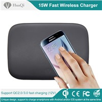 16 Coils Fast Wireless Mobile Charger with Supports both on Android & IOS System