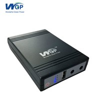 Portable Online UPS Power Supply DC Output 5V 9V 9V Three In One Mini UPS