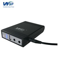 Mini DC UPS Battery 12v 5v 9v Power Bank 3 In 1 Online UPS