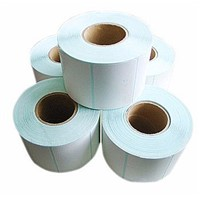 Ahhesive Sticker Paper Rolls, Waterproof Sticker Paper