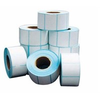 Factory Sticker Paper Rolls, Paper Adhesive Sticker Label