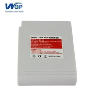Rechargeable 4S 2600mAh Lithium Ion Battery, 18650 14.8V Li Ion Battery Pack for Heating Jacket