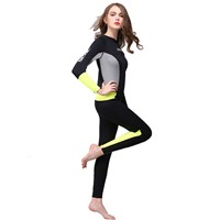 3mm Women Fashion Diving Suit Surfing Wetsuits High Level Neoprene Material Full Dive Suit