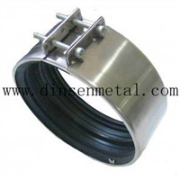 SS Couplings for SML Cast Iron Pipe