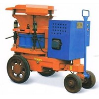High Speed Mortar Spraying Machine Motor Driven Shotcrete Machine