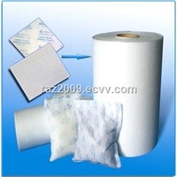 Supply Bicomponents Nonwoven Fabric PE/PET for Packaging Bags, Ecofriendly, White Color, Easywelded