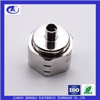 4.3-10 Male Right Angle Clamp Connector for RG141 Cable