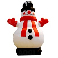 Advertising Snowman Inflatables