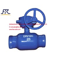 Fully Welded Ball Valve, Fully Welded Valve