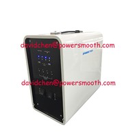 300W-600Wh Solar Storage Lead-Acid Battery Portable Solar Energy Storage System with USB5V, DC12V & AC230V Output