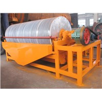High Efficient Mineral Coal Iron Gold Silica Sand Drum Magnetic Separator