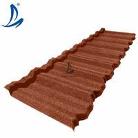 Ghana Hot Sale Classic Colorful Stone Coated Metal Roof Tile