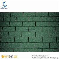 Class A Building Material 3 Tab Roofing Wall Tiles Asphalt Shingles