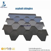Colorful Cheap Asphalt Roof Shingles Price