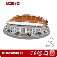 3D Puzzle Stadium Construction Kits Football Stadium Model