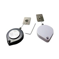 Heart-Shaped Anti Theft Pull Box Recoiler with Metal Plate End