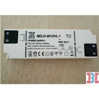 16.3mm 30W12V White Color Super Thin Power Supply