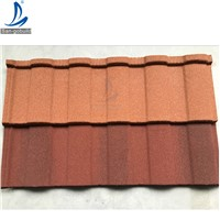 Natural Color Roman Stone Coated Metal Roofing Tiles