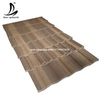 Wholesale Factory Directly Sell Cheaper Galvalume Stone Coated Roof TIle