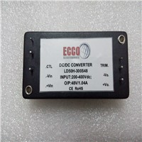 50W High Voltage Brick DC/DC Converter from ECCO Electronics