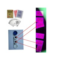 Modiano Golden Trophy Plastic Marked Cards/UV Contact Lenses/Invisible/Luminous Marked Cheating Cards/Casino Cheat