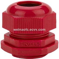 PG7-PG48 Cable Gland White Gray Red Plastic Housing Water-Proof