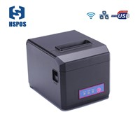300mm/s High Speed Voucher WiFi Thermal Printer Support Linux Driver Desktop Printer Cutter