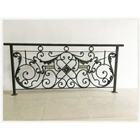 Chinese Hand-Forged Wrought Iron Rails EBR141, Customize High Quality Wrought Iron Railing, Competitive Price Balustrade