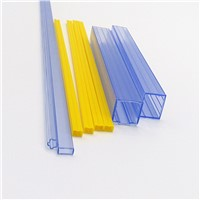 PVC Hard Printed Clear Plastic Packaging Tubes
