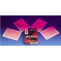 Fournier 2800 Red Plastic Luminous Marked Cards for Poker Game Cheat/Invisible Ink/Cheat In Casino/Perspective Glasses