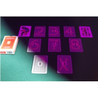 Italian Regional Modiano Piacentine Plastic Marked Cards for Poker Cheating Device/Invisible Ink/UV Perspective Glasses