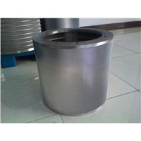 Screening Equipment Part Drilled Screen Cylinder