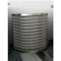 Screening Equipment Wedge Wire Screen Cylinder
