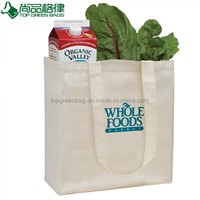 Wholesale Plain White Shopping Carrier Cotton Bags