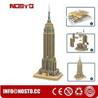 3D Building Puzzle for Empire State Building Construction Model & Set
