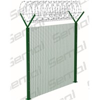 358 Anti Climb Fence with Razor Wire Type