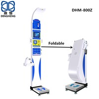 DHM-800Z Height Weight BMI Machine Body Scale Bluetooth & RS232 Connect Computer with CE & RoHS Approved from Ch