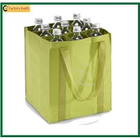6 Bottles Non Woven Wine Bag Polypropylene Bottle Bags Beer Bottle Holder PP Non Woven Promotional Wine Bags for Bottles