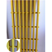 FRP/GRP Pultruded Gratings, Fiberglass Platform, Fence & Guardrail