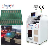 Printed Circuit Board & Flexiable Printed Circuit Depanelizer Machine with Laser Scanning Speed 2500mm/s