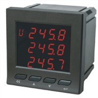 Multifunctional Electricity Instrument Three Phase Power Meter