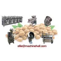 Peanut Coating Machine|Coated Peanut Production Line|Nut Coating Equipment