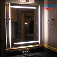 Wall Mounted Vanity LED Bathroom Mirror with Demister