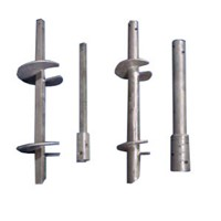 Hot Dip Galvanized/Plain Helical Piles/Screw Anchors