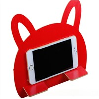 Lovely Fibreboard Wooden Light Weight Stand for Mobile Phone