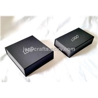 Luxury Black Collapsible Gift Box(D0027)