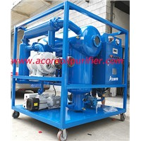Mobile Vacuum Transformer Oil Filtering Equipment